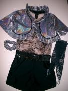 három részes fellépő ruha